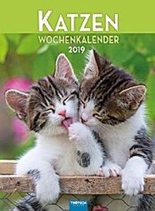 """Wochenkalender """"""""Katzen"""""""" 2019"""