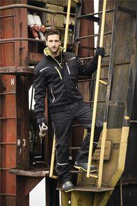 Pilotenjacke Terrax Workwear Gr.XXL schwarz/limette 100%.Polyester Terrax