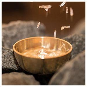 Sauna Verdampferschale plus 10g Mentholkristalle