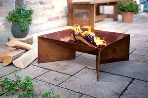 """Feuerstelle """"Modern"""", 57 x 57 x 57 cm nur für den Außenbereich geeignet"""