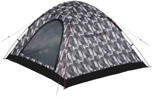 High Peak Kuppelzelt für 4 Personen Campingzelt Igluzelt 1500mm wasserdicht, Festivalzelt mit Wannenboden