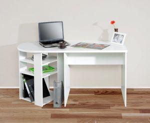 Schreibtisch Kinderschreibtisch Schülerschreibtisch Bürotisch weiß