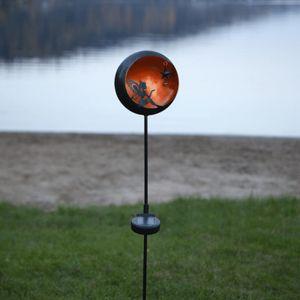 Star Trading Dekorative LED Solar Leuchte Fairytale in Amber