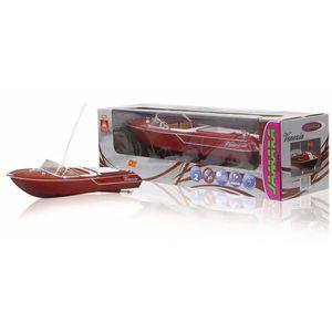 Jamara Ferngesteuertes Boot Venezia Holzoptik 40 Mhz