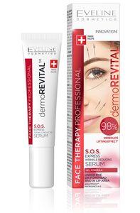 dermoREVITAL S.O.S. Faltenreduktionsserum unter den Augen, 15 ml