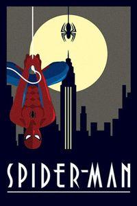 Pyramid Marvel Deco Spider-Man Hanging Poster 61x91.5cm.