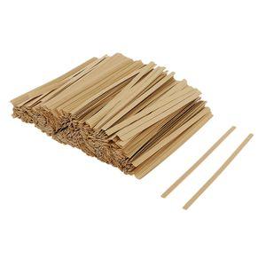 1000 Stück Twist Krawatten Kraftpapier Brot Krawatten für Geschenkbeuteln, Scarpbooking Größe 10cm