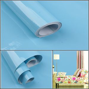 13 Art Farbe glänzende Möbel renovierte Aufkleber Pvc abnehmbare Tapete Dekor WTX80515483SB