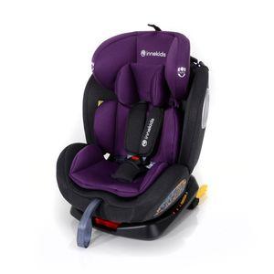 Innokids Kindersitz YC06 360° ISOFIX 0-36 kg Gruppe 0+/1/2/3 schwarz-lila
