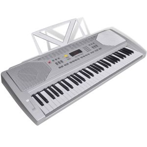 vidaXL Elektrisches Fun Keyboard 61 Tasten inkl. Notenablage