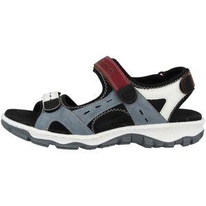 Rieker 68872-13 Schuhe Damen Trekking Sandalen  , Größe:39 EU, Farbe:Blau