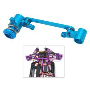 Lenkung Gruppe Montage Kit Servo Saver Upgrade Teile WLtoys 144001 124019 1:14 Blau