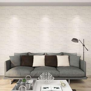 Wandpaneele 12 Stk. 3D 0,5×0,5 m 3 m2