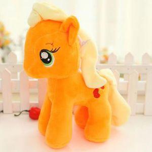My Little Pony Plüschtier Schmusetier Kuscheltier Kinder Weihnachten Geschenk Stoffpuppe Applejac