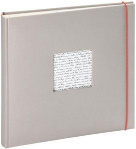 Altergenossesfotoalbum Linea Grau 60 Trad. Seite 30X30 Cm