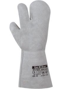 12 Paar texxor 3-Finger Schweißerhandschuhe Santorin Schweißer Arbeitshandschuhe