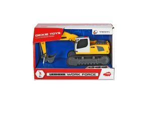 Dickie Toys - Spielfahrzeuge, Liebherr Work Force, 2-sort.; 203722003