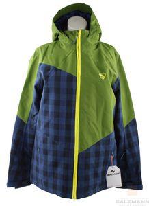 Ziener Avan jun Kinder Jacke Skijacke Gr. 152 Grün-Blau Neu