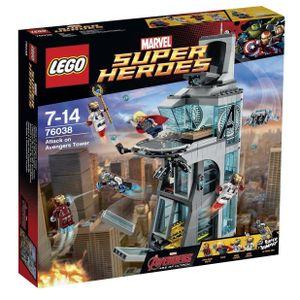 Lego Überfall auf den Avengers Tower Marvel Super Heroes, Comics, Beide Geschlechter, 7 Jahr(e)