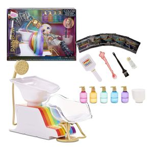 Rainbow Surprise 567448 Haarstudio Frisuren Friseur Salon Farben für Mode Puppe