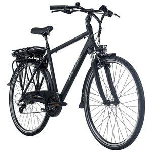 Pedelec E-Bike Herren Cityrad 28'' Adore Marseille schwarz Adore 114E