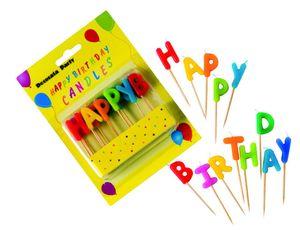 Geburtstagskerzen Happy Birthday Kerzen