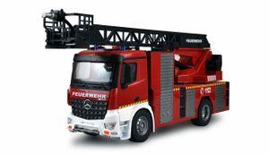 Mercedes-Benz Feuerwehr Drehleiterfahrzeug 1:18, RTR, Lizenzfahrzeug