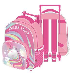 Einhorn Trolley Reisetasche Koffer Kinderkoffer Rucksack mit Rollen