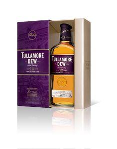 Tullamore Dew 12 Years Special Reserve Irish Whiskey Triple Distilled in Geschenkpackung   40 % vol   0,7 l