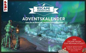 Adventskalender Escape Adventures - 24 Rätsel der verwunschenen Eisruinen
