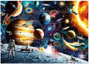 Puzzle 1000 Teile Puzzle Star Wars Puzzle 1000 Teile Weltraum Puzzle für Erwachsene 1000 Teile Das Sonnensystem Planeten im Weltraum das Puzzlespiel Jigsaw Puzzle 1000 Teile Herausforderung