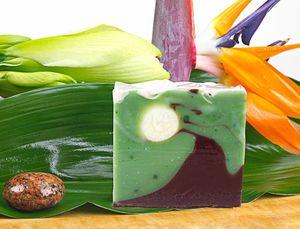 Naturseife Waldfee 100g, Handseife vegan, natürlich basische Seife