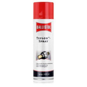 Ballistol TeflonTM-Spray 400ml - Dauerhafte Trockenschmierung (1er Pack)