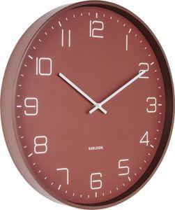Wanduhr 'Lofty' (red hot) - Karlsson Uhren