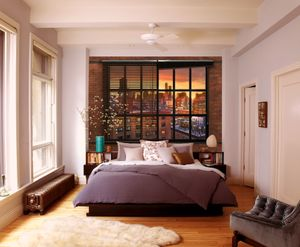 """Komar Fototapete """"Brooklyn Brick"""", bunt, 368 x 254 cm"""