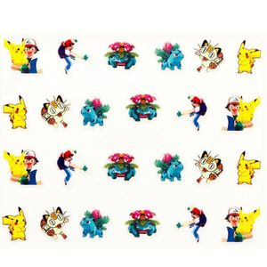 Nailart - Sticker selbstklebend - Pokemon - 705-E444