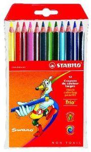 Happy Kidz Farbstifte Trio 12er Etui 21404156061
