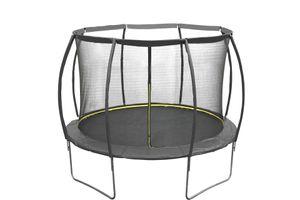 Garten Trampolin schwarz 305 cm 10 FT mit Sicherheitsnetz