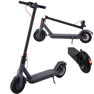 Elektroroller 8,5 Elektro Scooter Schwarz Klappbar Roller Faltbar Aluminium LED E-Scooter EU Version 25 km/h, 7800mAh Mit APP Steuerung, ohne ABE