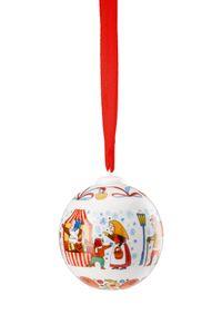 Hutschenreuther Porzellankugel Weihnachtskugel 2019 Porzellankugel 02252-722986-27940