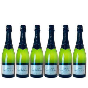Champagner Veuve Pelletier brut (6x0,75l)