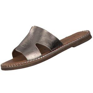 TAMARIS Damen Pantoletten  Bronze (Champagner Metallic), Schuhgröße:EUR 38