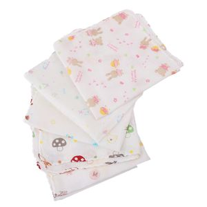 5er Set Mulltücher / Mullwindeln / Spucktücher, 30 x 30cm, für Baby Jungen Mädchen