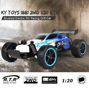 KY Spielzeug 1881 2,4 GHz 2WD 1/20 Gebš¹rstet Elektrische RTR RC Racing Drift Auto