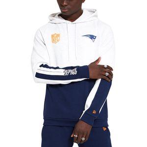 New Era - NFL New England Patriots Colour Block Hoodie - Weiß : Weiß XXL Farbe: Weiß Größe: XXL