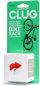 Clug Hybrid Fahrradclip Für die Wand - Weiß/Orange