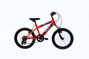 20 Zoll Kinderfahrrad Kinder Jungen Mädchen Mädchenfahrrad MTB Mountainbike Fahrrad Federgabel Gabelfederung Rad Bike Shimano 6 Gang VOLT