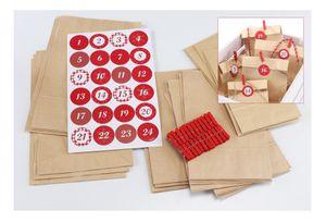 2x Adventskalender selbermachen DIY Weihnachtskalender selbst Befüllen Advent
