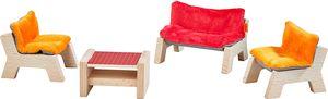 Haba Little Friends Puppenhaus-Möbel Wohnzimer