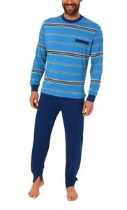 Herren Pflegeoverall langarm mit Reissverschluss am Rücken und Bein 16117090724, Farbe:hellblau, Größe:M
